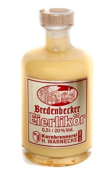 Eierlikör, Kornbrennerei Warnecke Bredenbeck